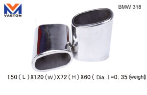 Exhaust/Muffler Pipe for BMW-318, Made of Stainless Steel 304B pictures & photos