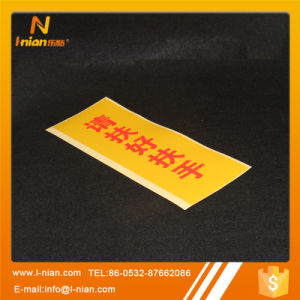 Light Reflective Sticker Printing Warning Labels