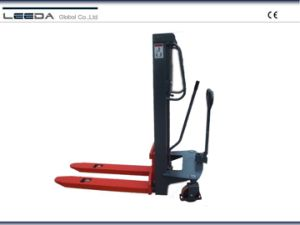 Double Action Hydraulic Hand Stacker (HPB Series) pictures & photos