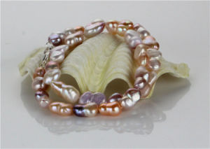 Snh Baroque Shape AAA Quality Cheap Genuine Pearl Jewelry Set pictures & photos