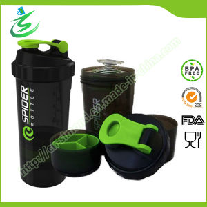 500ml Custom 3 in 1 Multi Storage Shaker pictures & photos