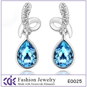 Big Rhinestone Crystal Jewelry Earring Studs (E0025)