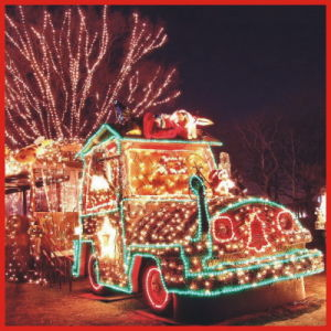 Beautiful Magic Colourful Christmas Train Lights with CE RoHS pictures & photos