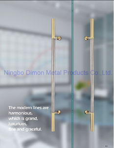 Dimon H Type Stainless Steel Glass Door Handle Dm-DHL 058 pictures & photos