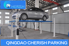 3700kgs Weight Hydraulic Four 4 Post Auto Vehicle Car Parking Lift pictures & photos