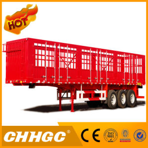 Chhgc Tri-Axle Stake Semi Trailer with Long Locks pictures & photos