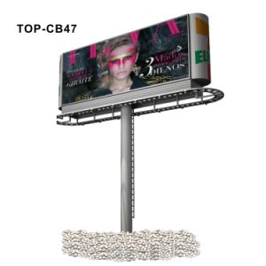 Highway Pole Supported Large Size LED Banner Lightbox pictures & photos