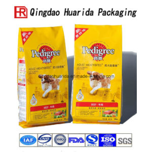 Customize Side Gusset Dog Food Plastic Packaging Bag pictures & photos