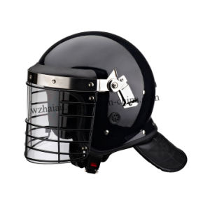 Reinforced Anti Riot Helmet with Metal Grid (FBK-L04) pictures & photos