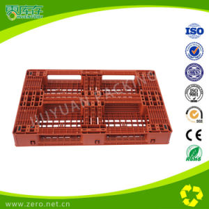 Logistic Storage Plastic Transport Pallet for Cargo with Grabs pictures & photos