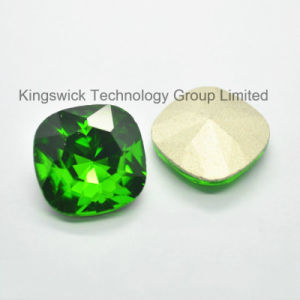 Square Glass Fancy Stones for Garments pictures & photos