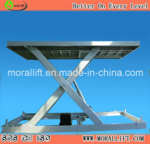 Scissor Lift Table for Car Easy Parking pictures & photos