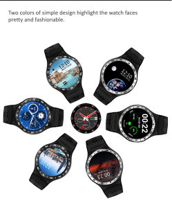 S99A Quad Core 3G Smart Watch GPS WiFi Pedometer Heart Rate Smartwatch pictures & photos