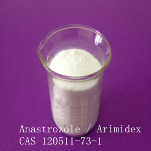 USP Highest Pure Anastrozole Arimidex (120511-73-1) for Anti Estrogen Breast Cancer