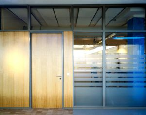 Aluminum Frame Glass Partition Walls for Office pictures & photos