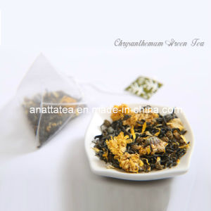 Natural Green Tea with Chrysanthemum Flower