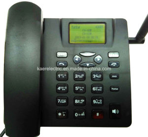 Dual SIM Card GSM Desktop Phone pictures & photos