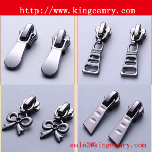 Zipper Puller&Slider/Zipper Head/Nylon Slider Double Puller Non Lock/Metal Zipper Slider pictures & photos