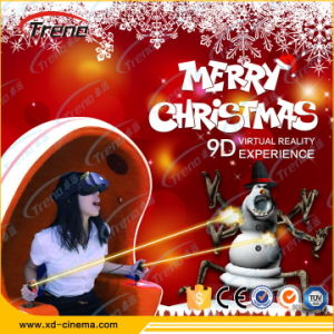 Newest and Stable Technology Virtual Reality 9d Egg Vr Cinema Simulator pictures & photos