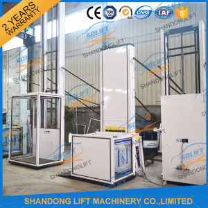 250kg Hydraulic Outdoor Aluminum Alloy Wheelchair Vertical Lift pictures & photos