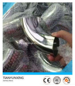 Polished Elbow Tee 304 Stainless Steel Sanitary Fitting pictures & photos