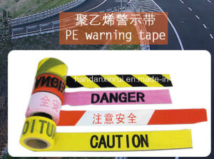 High Density Polyethylene Warning Tape