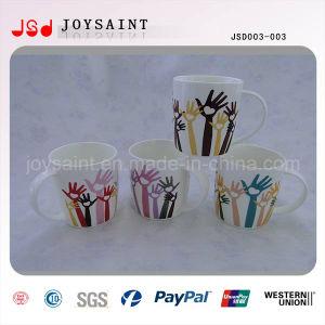 New Design Promotional Ceramic Mug with High Quality (JSD003-003)