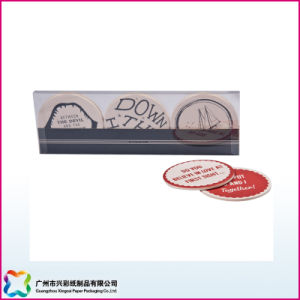 Absorbent Paper Beer Coaster & Coffee Mat Promotional Gift (xc-8-20) pictures & photos