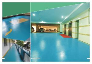 Fast-Curling Seamless Anti-Falling Flooring with Effective Silencing Function pictures & photos