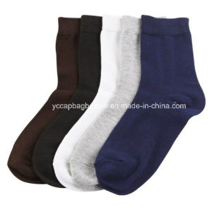 100% Cotton High Quality Mens Sock pictures & photos
