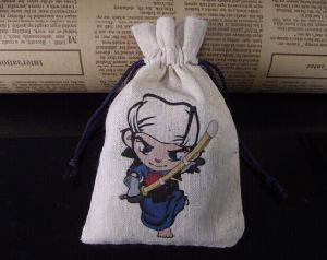 Fashion Promotion Custom Drawstring Gunny Bag pictures & photos