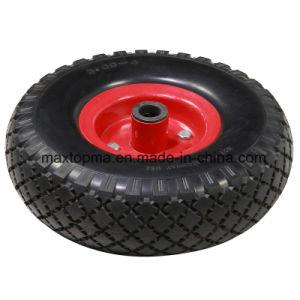 300-4 Pneumatic Wheelbarrow Rubber Wheel pictures & photos