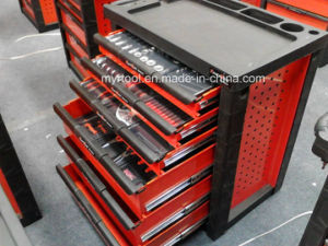 High Quality-7 Drawers Tool Cabinet Set with Hand Tool Set pictures & photos