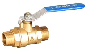 China Factory Supply Brass Ball Valve with Male M/M Thread pictures & photos