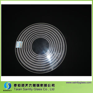 3.2mm Round Tempered Decorative Glass Covers for Lighting pictures & photos