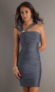 Best Price Silver Short Cheap Prom Dresses (PD3027) pictures & photos