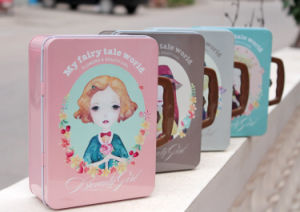 Tin Lunch Boxes with Lock and Key pictures & photos