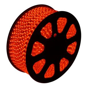 SMD5050 220V LED Flexible Strip with Waterproof (red)