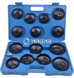 15 PCS Cup Type Oil Filter Wrench Set-Car Repair Tools (MG50037) pictures & photos