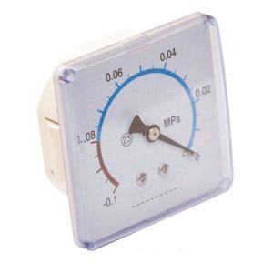 Square Plastic Case Vacuum Pressure Gauge