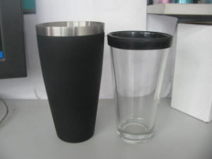 28oz/800ml Low Price PVC Bar Boston Shaker/Cocktail Shaker/Mixer pictures & photos