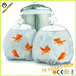 Clear HDPE Watertight Bin Liner No Leakage Garbage Bag