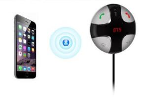Portable Car Bluetooth Music Receiver with FM Radio pictures & photos