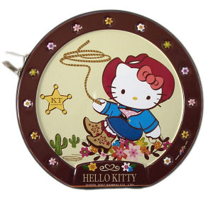 Hello Kitty CD/DVD Tin Boxes with Zipper pictures & photos