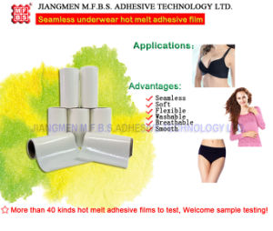 Seamless Underwear Hot Melt Adhesive Film by Laminating Machine