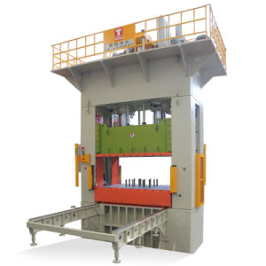 CE Standard Taiwan Quality H Frame Hydraylic Press for Deep Drawing of Auto Parts 1000t with Moving Bolster pictures & photos