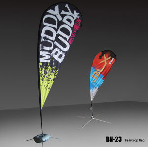 Polyester Beach Flag Banner Display (BN-23) pictures & photos