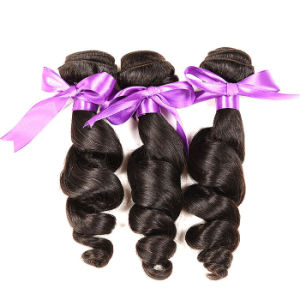 Brazilian Virgin Hair Straight 3 Bundles 7A Unprocessed Virgin Hair Brazilian Human Hair Weave Bundles Brazilian Straight Hair pictures & photos
