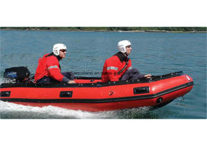 Aqualand 16feet 4.7m Rescue Boat/Military Inflatable Boat/Hypalon Rubber Boat (aql-470) pictures & photos