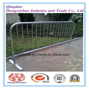 1.1m*2.2m Crowd Control Barrier/Galvanized Temporary Fence pictures & photos